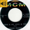 Connie Francis - Love Is Me, Love Is You