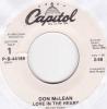 Don Mclean - Love In My Heart