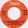 Isley Brothers - Who Loves You Better Part 1