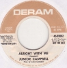 Junior Campbell - Alright With Me