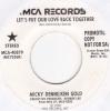 Micky Denne & Ken Gold  - Let´s Put Our Love Back Together