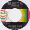 Warner Mack - Tell Me To Go