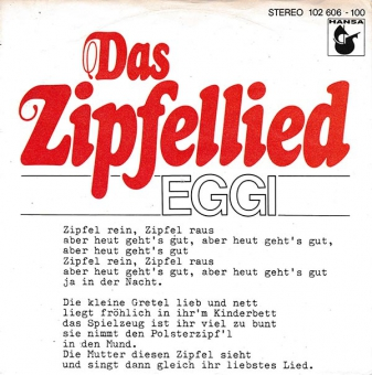 Eggi Bierling - Das Zipfellied (NM)