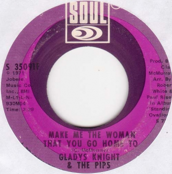 Gladys Knight & The Pips - Make Me The Woman That You Go Home To