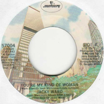 Jacky Ward - You´re My Kind Of Woman