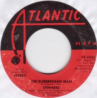 Spinners - The Rubberband Man (VG++)