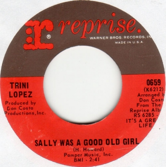 Trini Lopez - Sally Was A Good Old Girl (M-)