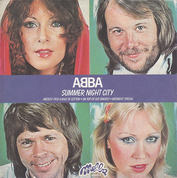 Abba - Summer Night City (FR)