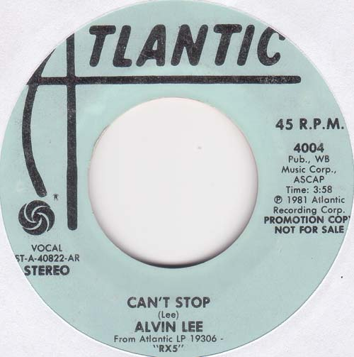 Alvin Lee - Can't Stop