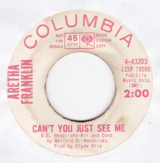 Aretha Franklin - Can't You Just See Me