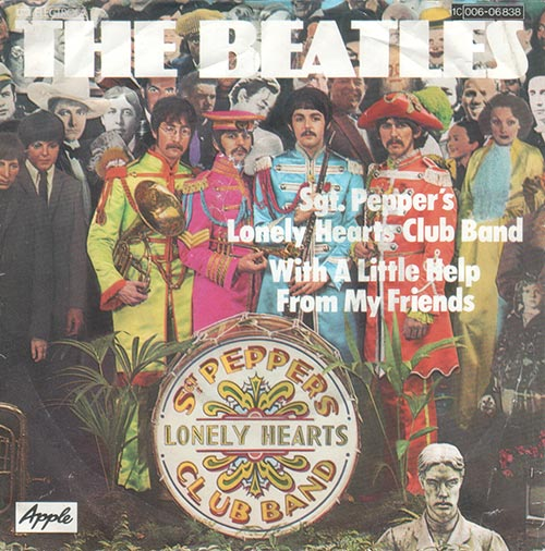 Beatles - Sgt. Pepper´s Lonely Hearts Club