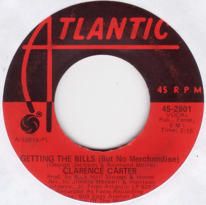Clarence Carter - Getting The Bills