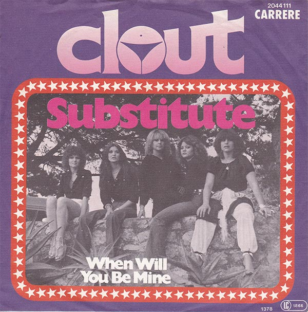 Clout - Substitute (VG++)