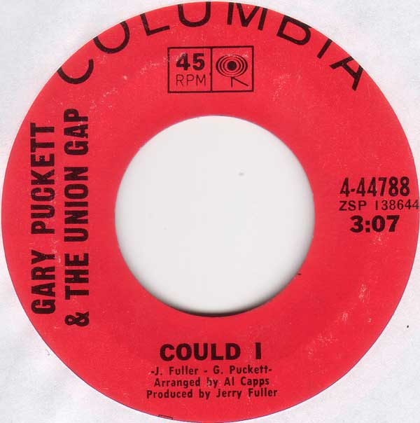 Gary Puckett & The Union Gap - Could I