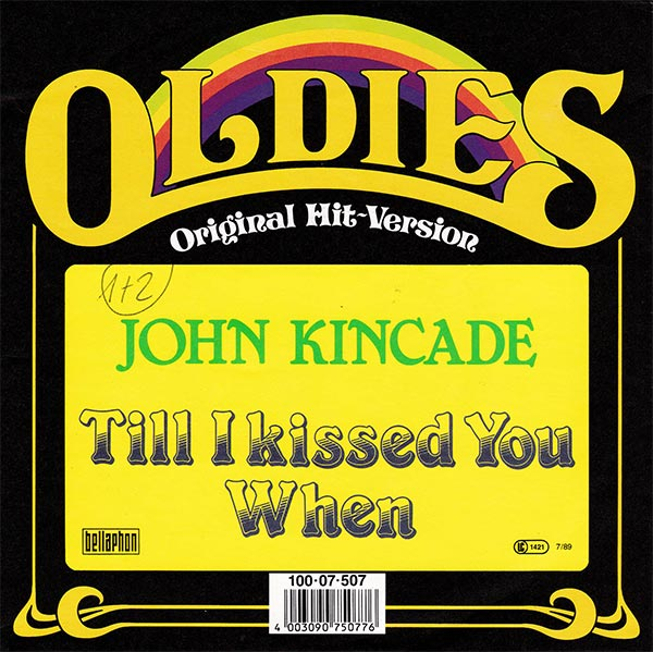 John Kincade - Till I Kissed You