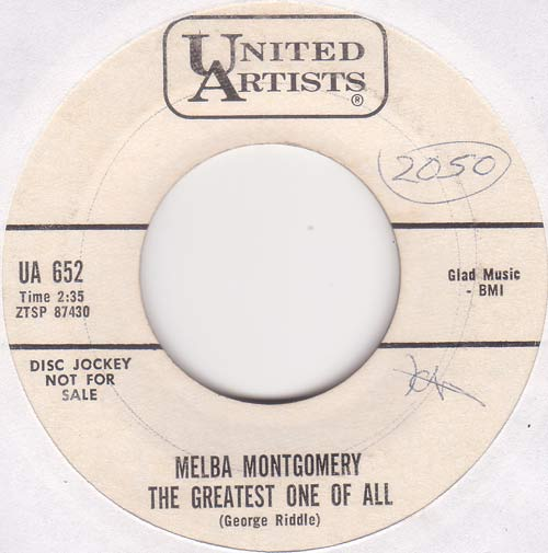 Melba Montgomery - The Greatest One Of All