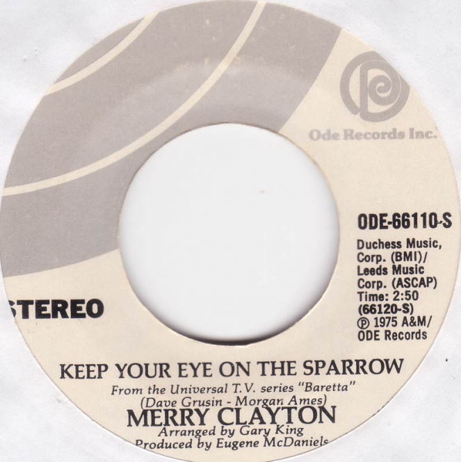 Merry Clayton - Keep Your Eye On The Sparrow (NM)