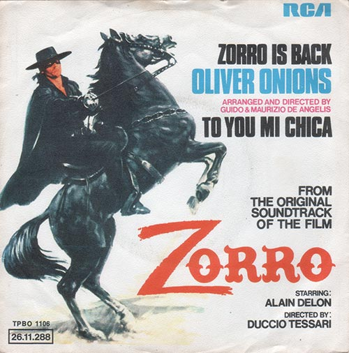 Oliver Onions - Zorro Is Back