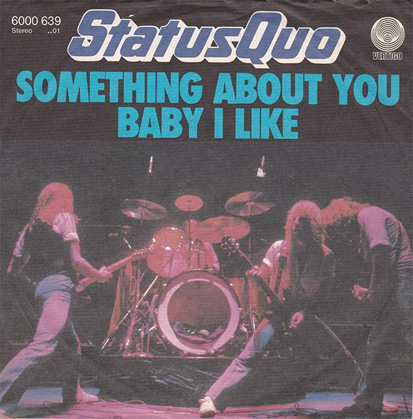 Vinyl Shop Status Quo Something About You Baby I Like