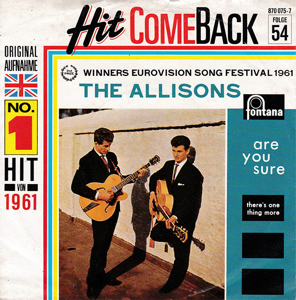The Allisons - Are You Sure (RE)