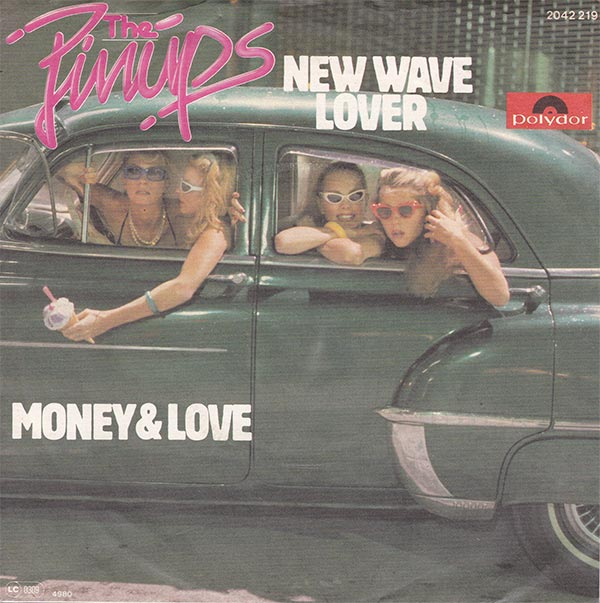 The Pinups - New Wave Lover
