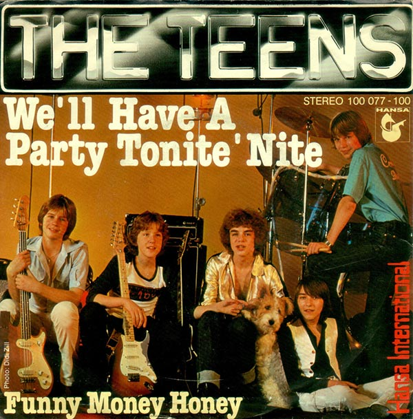 Vinyl Shop The Teens We 180 Ll Have A Party Tonite 180 Nite