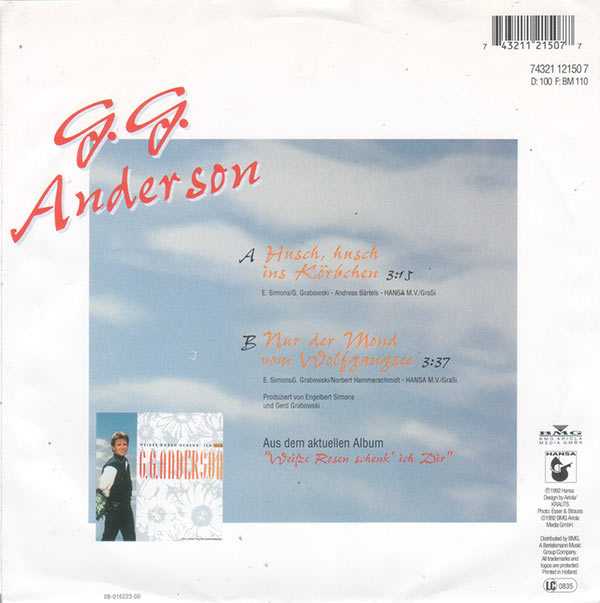 vinyl shop g g anderson husch husch ins k rbchen vinyl singles. Black Bedroom Furniture Sets. Home Design Ideas