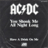 ACDC - You Shook Me All Night Long - Missprint