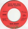Bob Segar - Rock And Roll Never Forgets
