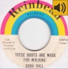 Dora Hall - These Boots Are Made For Walking
