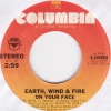 Earth, Wind & Fire - On Your Face (VG++)