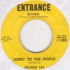 George Lee - Sorry To The World