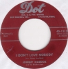 Johnny Maddox - I Don't Love Nobody