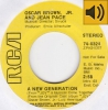 Oscar Brown Jr. and Jean Pace - A New Generation
