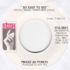 Proud As Punch - So Easy To See