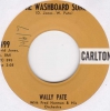 Wally Pate  - Washboard Song