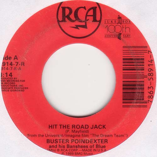 Lyrics buster poindexter hit the road jack songs about ...