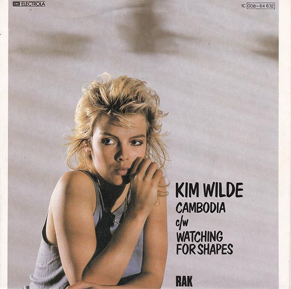 vinyl shop kim wilde cambodia vinyl singles. Black Bedroom Furniture Sets. Home Design Ideas
